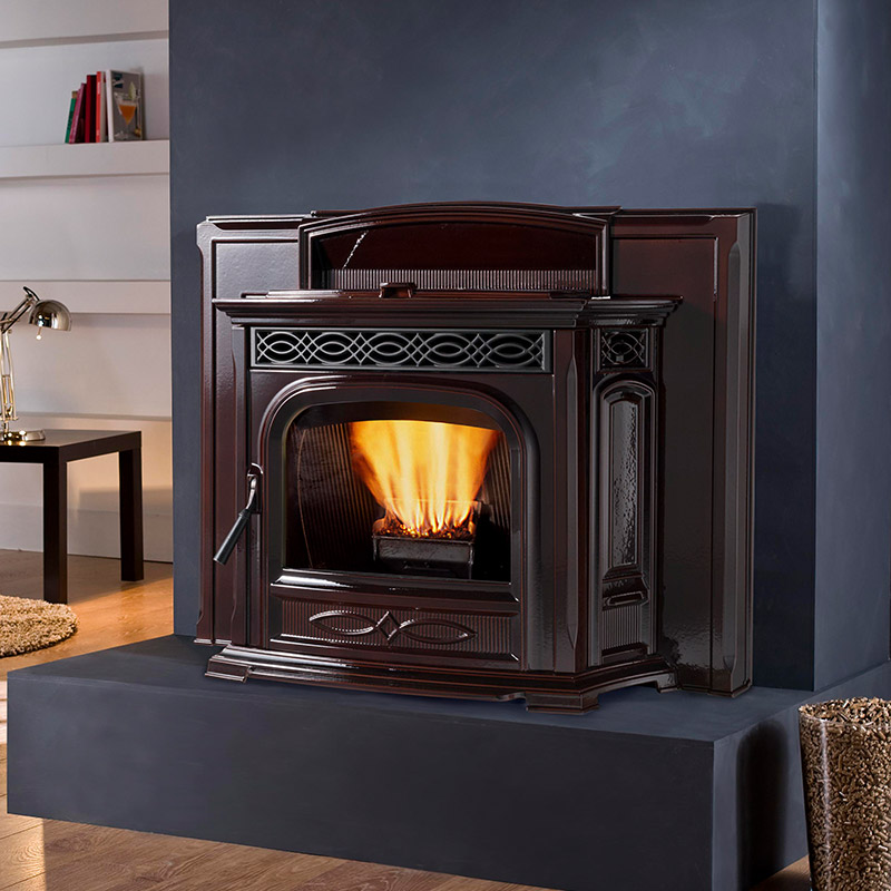 Pellet Fireplace Inserts Harman Mountain West Sales